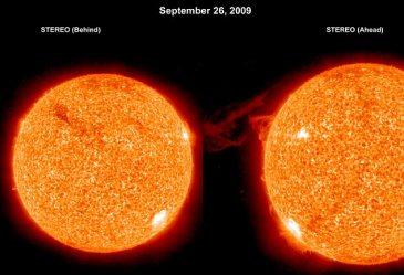 Lihat Titik Putih Sebagai Badai Magnetik Matahari