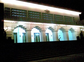 Istana Lama Kerajaan Kutai Kertanegara sekarang menjadi museum